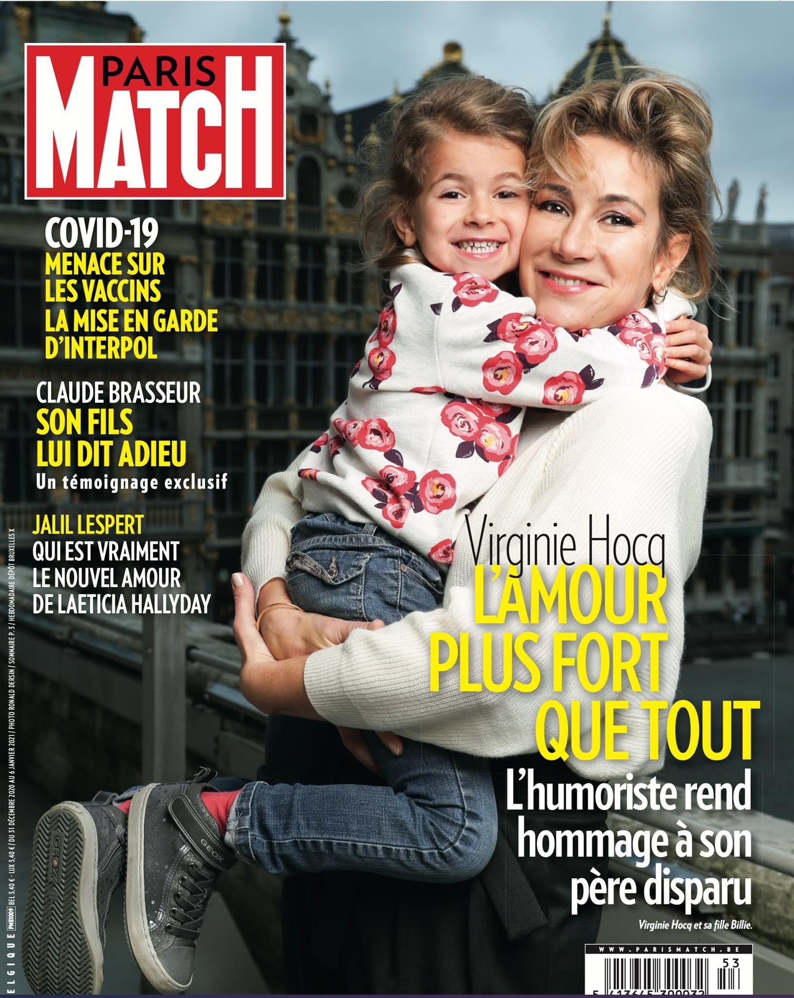 Paris Match Belgique - 31.12.20