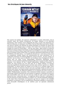 Chroniques de Jean Dessorty 27.09.15