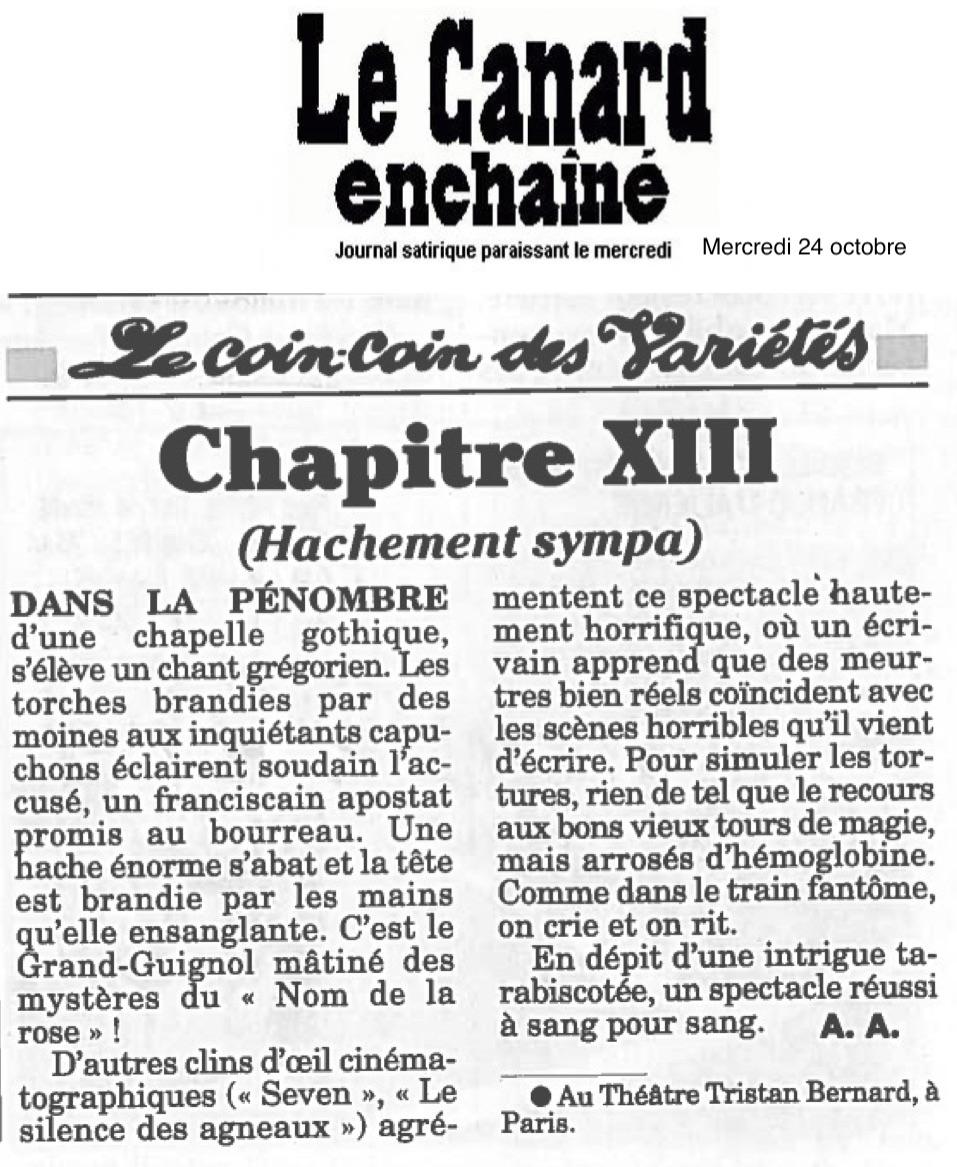 Le Canard Enchaîné 24.10.18