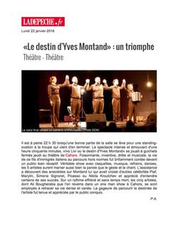 La Dépêche Cahors 22.01.18