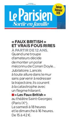 Le Parisien 17.10.20