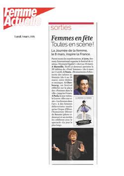 FEMME ACTUELLE 02.03.15