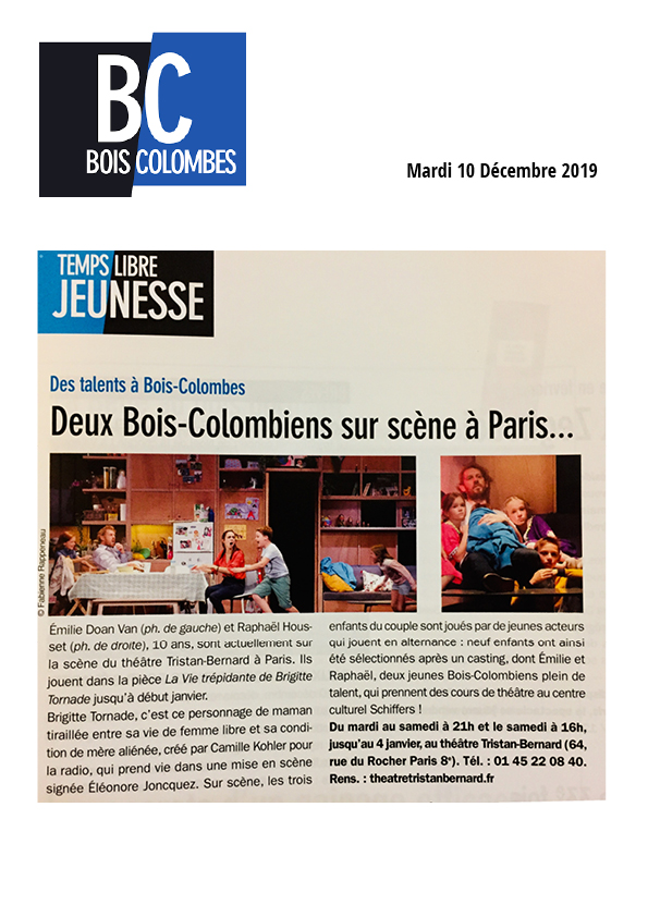 Journal Bois Colombes 10.12.19