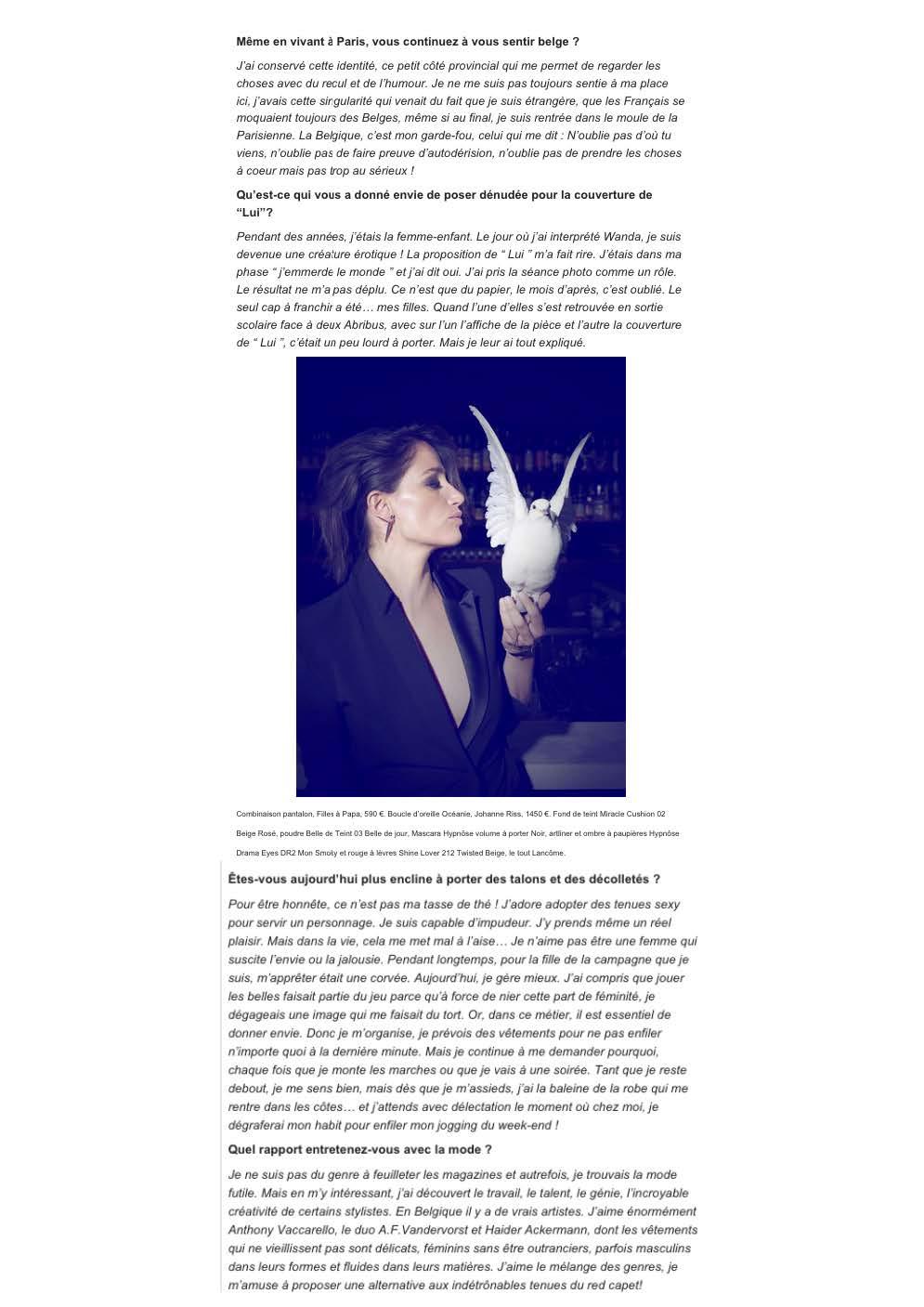 Le Soir 10.06.15 page 3/4