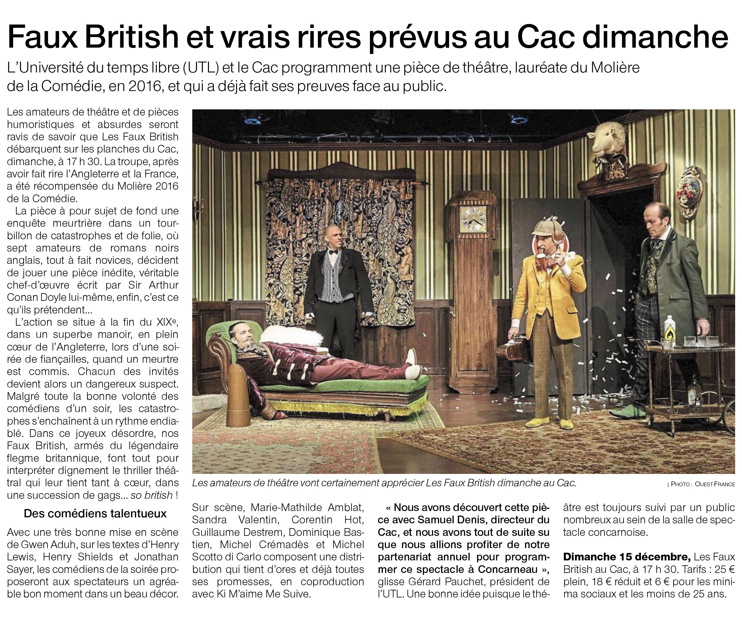 Ouest France 12.12.19