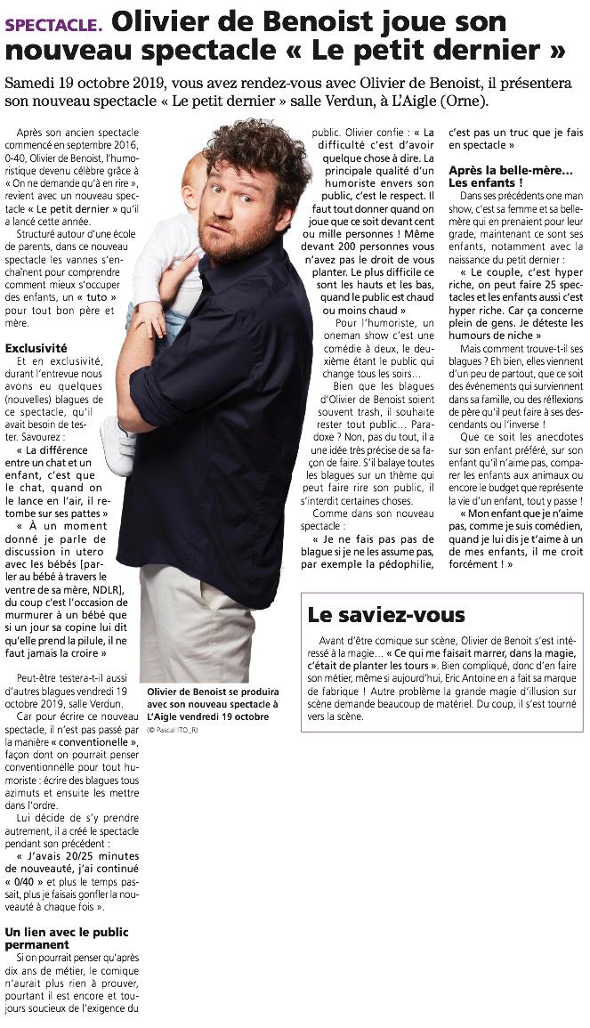 Le Réveil Normand 16.10.19
