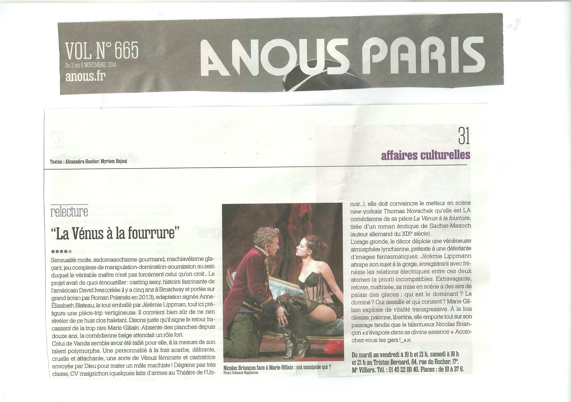 A NOUS PARIS 03.11.14