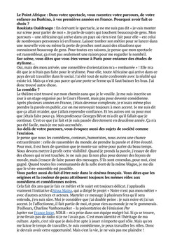 Le Point Afrique Itw p2 - 01.04.19