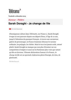 Télérama.fr 11.12.15