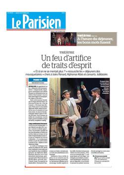 Le Parisien 11.09.18