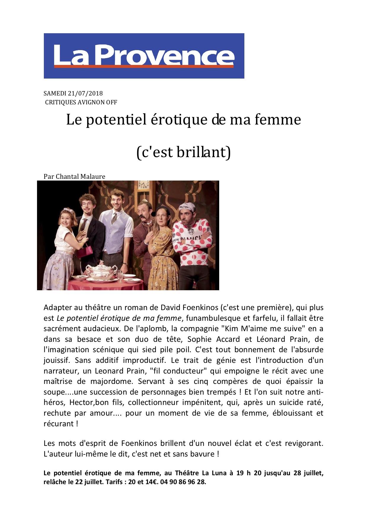 La Provence 21.07.18