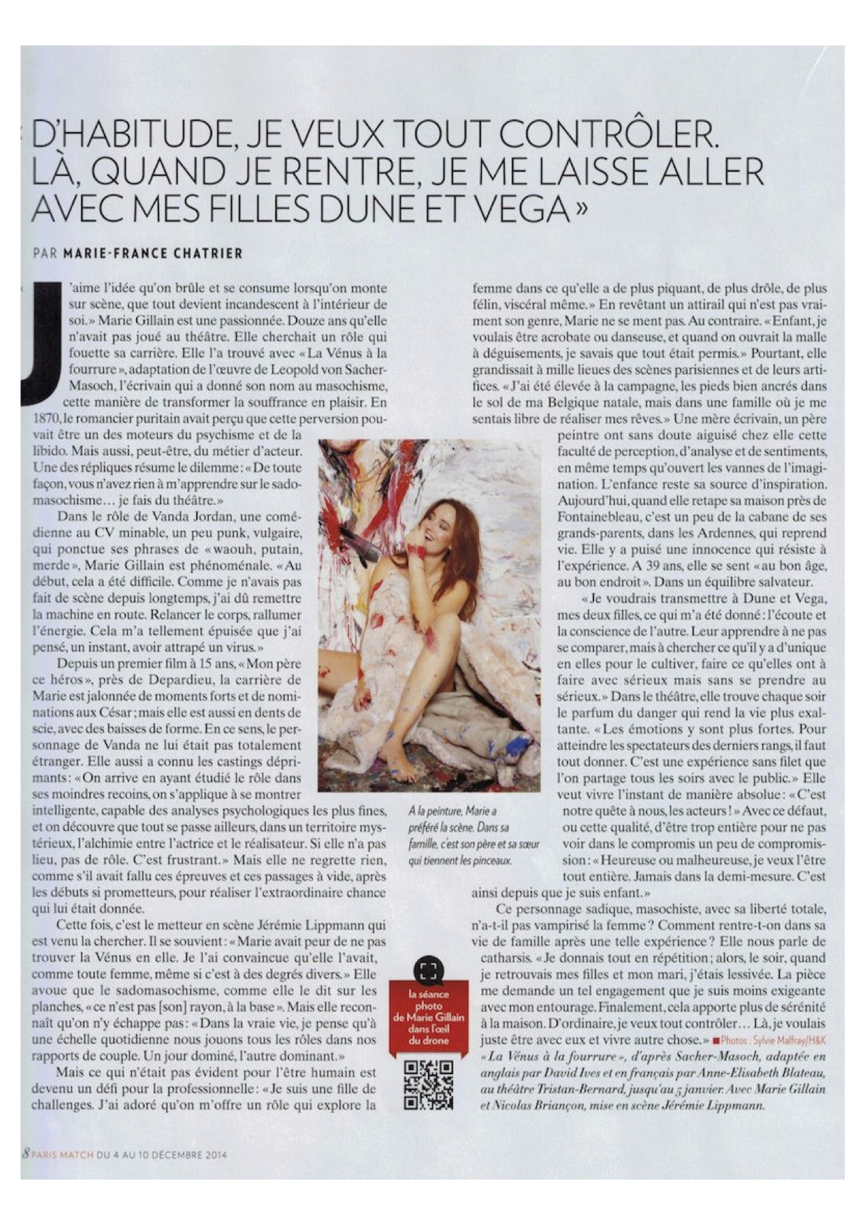 Paris Match p5 - 04.12.14