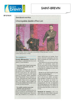Ouest France 27.10.17