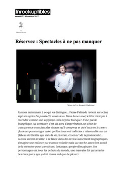 Les Inrockuptibles 23.12.17