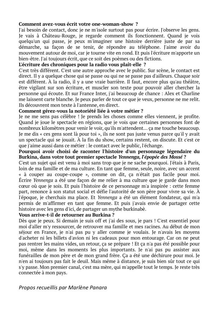 Le Point Afrique Itw p3 - 01.04.19