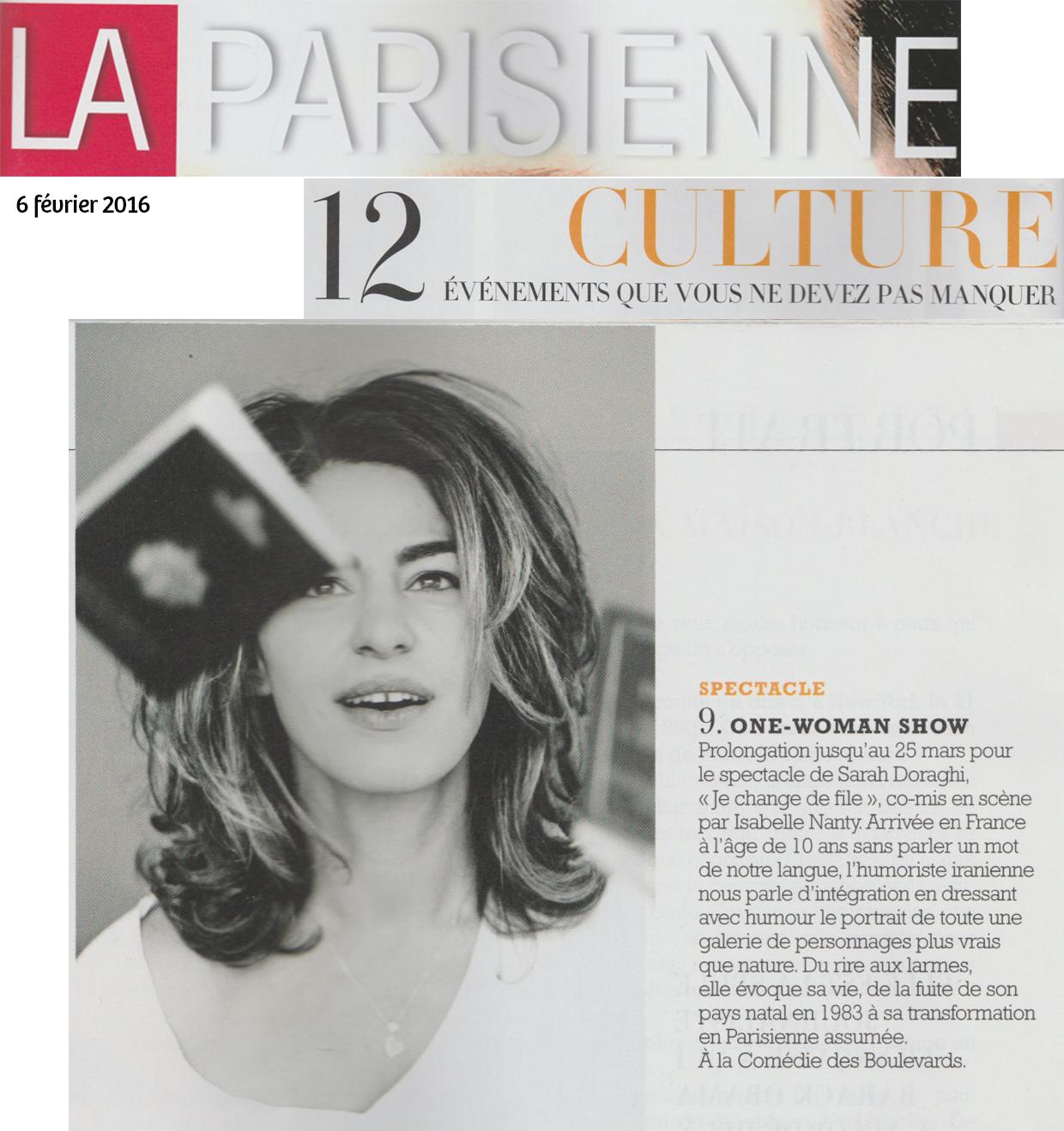 La Parisienne 06.02.16