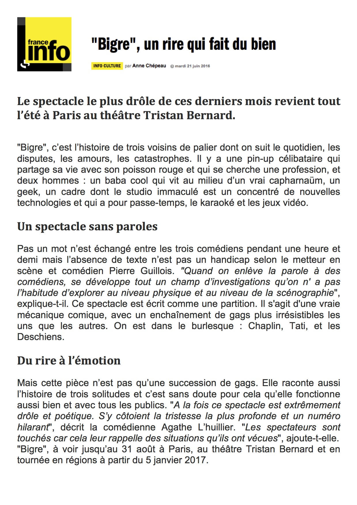 France Info 21.06.16