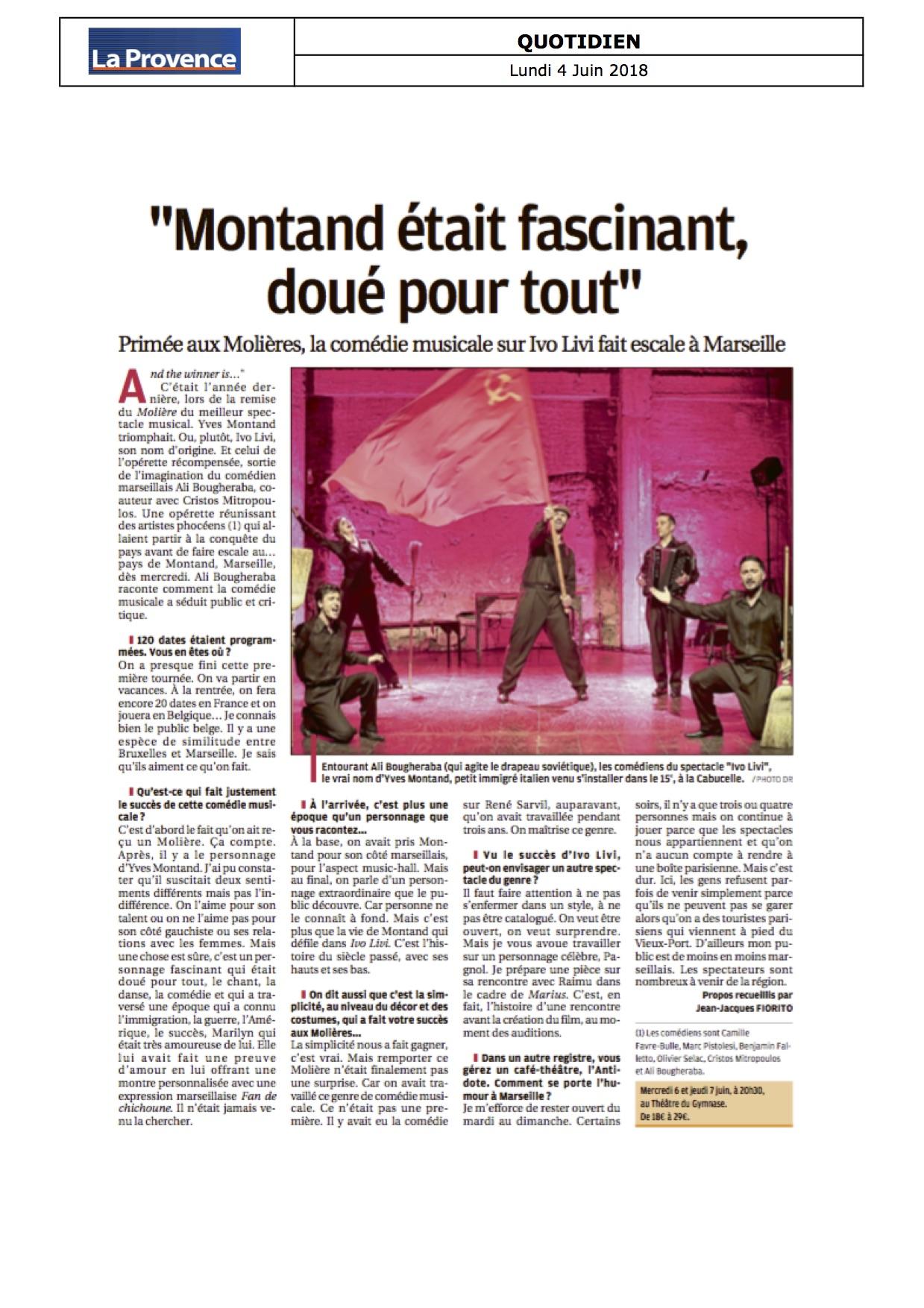 La Provence 04.06.18