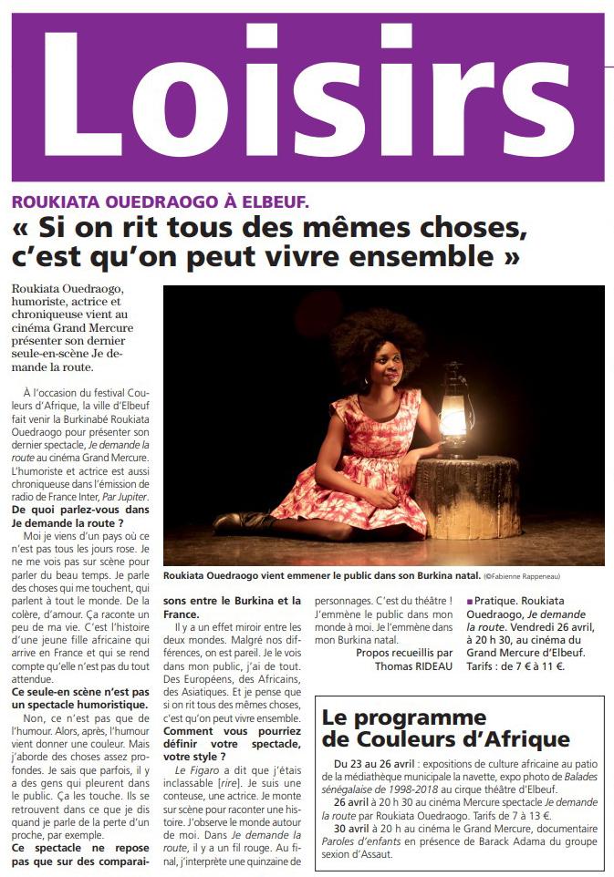 Le Journal d'Elbeuf 23.04.19