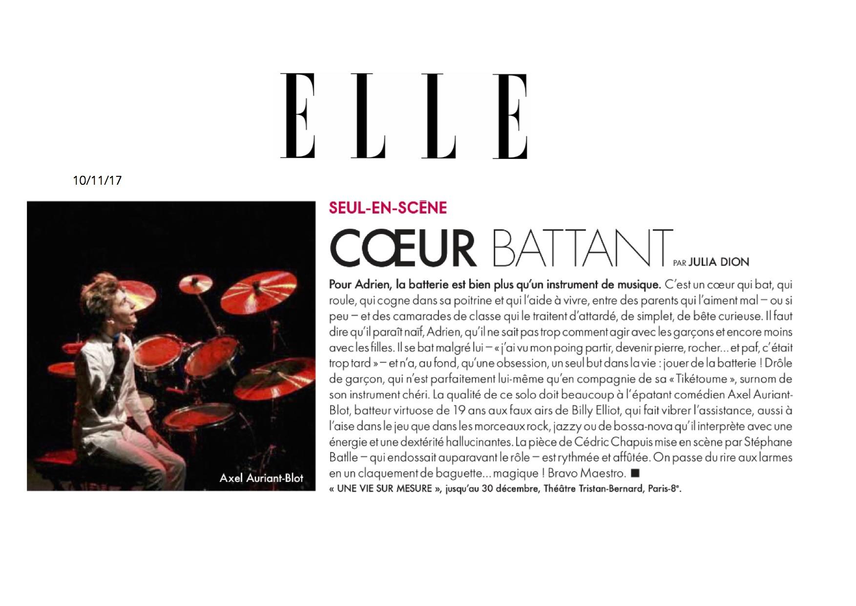 ELLE magazine 10.11.17