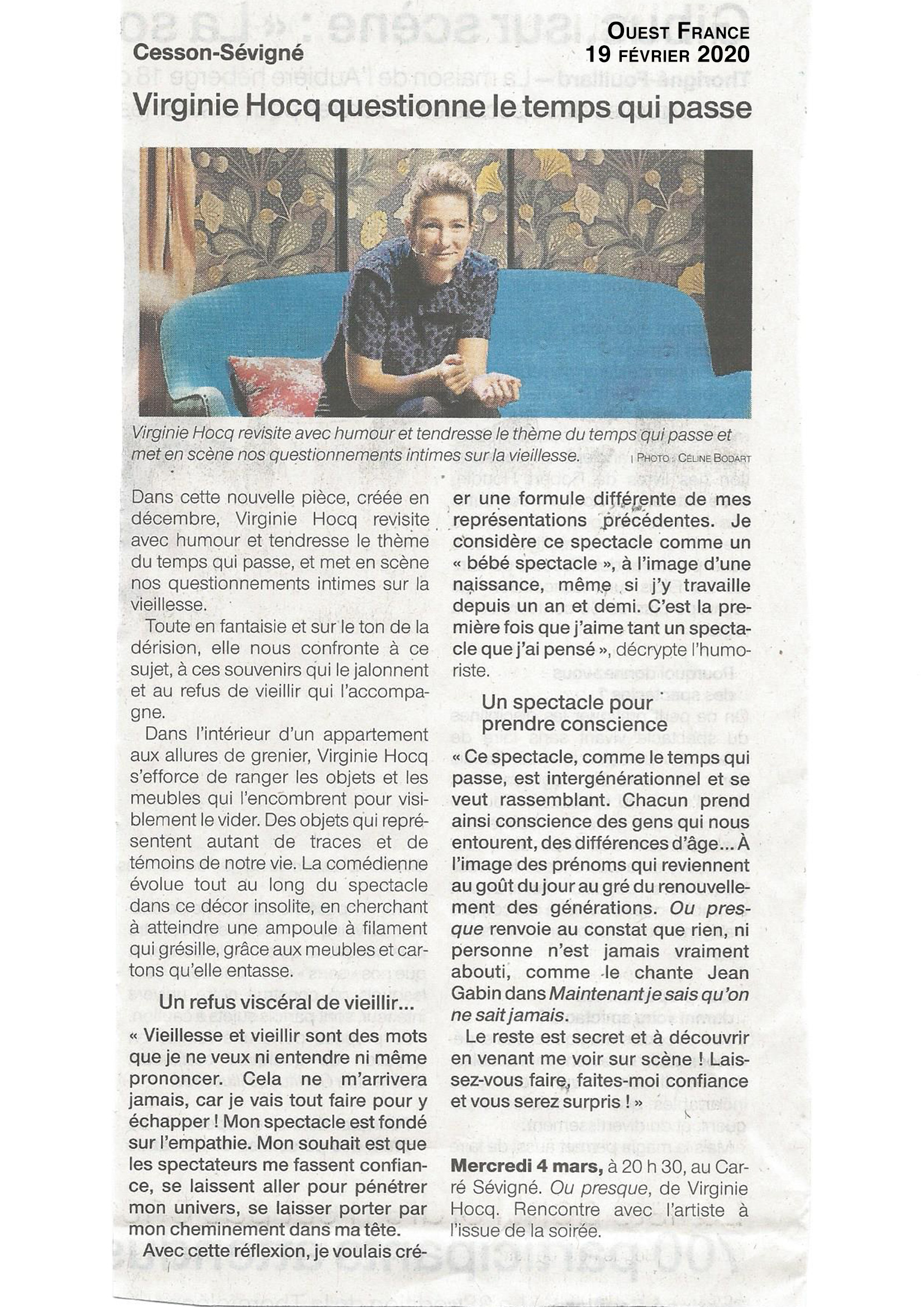 Ouest France 19.02.20
