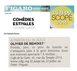 Figaroscope Eté 2016
