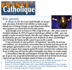 France Catholique 27.01.17