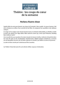 Le Figaro 04.12.18