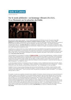 Arts & Lettres blog 08.10.18