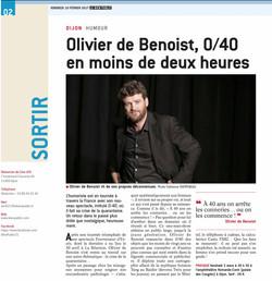 Le Bien Public - Sortir 20.02.17