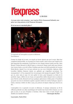 L'EXPRESS 11.09.18