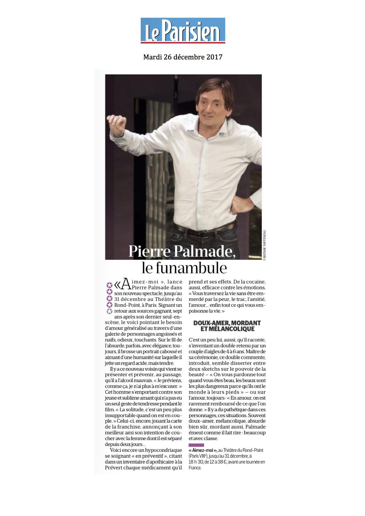 Le Parisien 26.12.17
