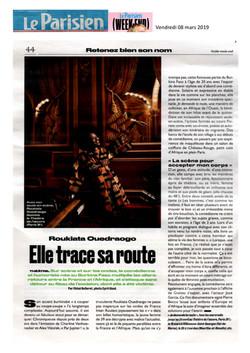 Le Parisien week-end 08.03.19