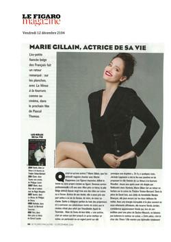 Figaro Magazine p1 - 12.12.14