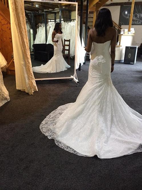 White Portable Bridal Mirror