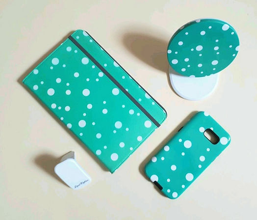 Teal Dotty Collection.jpg