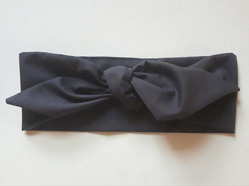 Dark Chocolate Brown Plain Coloured Head Tie