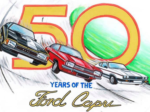 50 Years Of The Ford Capri