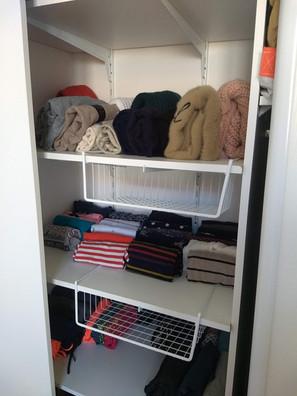 Pliage vêtements