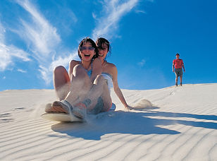 Sand Dunes Adventure Lancelin. Photo Cre