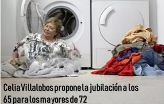 Celia Villalobos propone la jubilación a los 65 para los mayores de 72