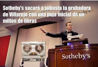 Sotheby's sacará a subasta la grabadora de Villarejo con una puja inicial de un millón de libras