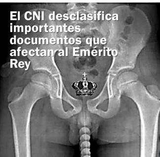 EL CNI DESCLASIFICA IMPORTANTES DOCUMENTOS QUE AFECTAN AL EMÉRITO REY