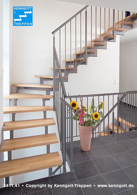 Zweiholmtreppe, Treppen, Holztreppen