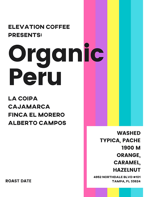 Organic Peru Finca El Morero