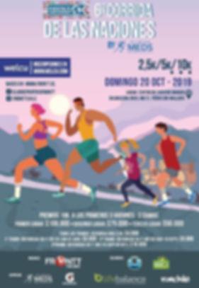 Corrida Fiesta de la Naciones