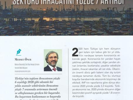 2020'de Türkiye'nin Toplam İhracatı Düşerken Asansör Sektörü İhracatını % 7 Artırdı
