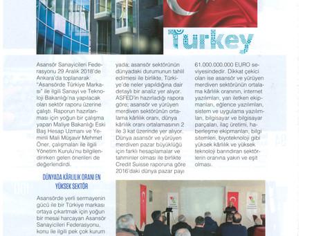 """""""Asansörde Küresel Bir Türkiye Markası"""" İçin Sektör Raporu Hazırlandı"""