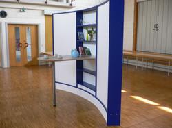 Wave Display Stellwand-Möbelsystem