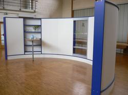 Wave Display effizient im Raum